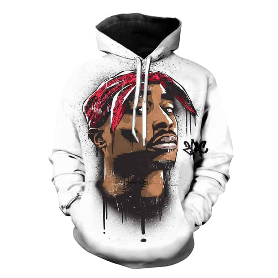 ede8e0090e5 Chill Hoodies White Thug Life Tupac Hoodie 2pac West Side Unisex Adult  Sweatshirt